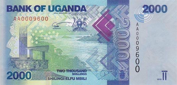 乌干达 2000先令 2010