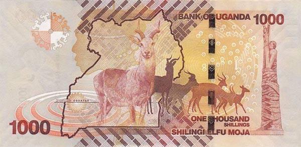 乌干达 1000先令 2010
