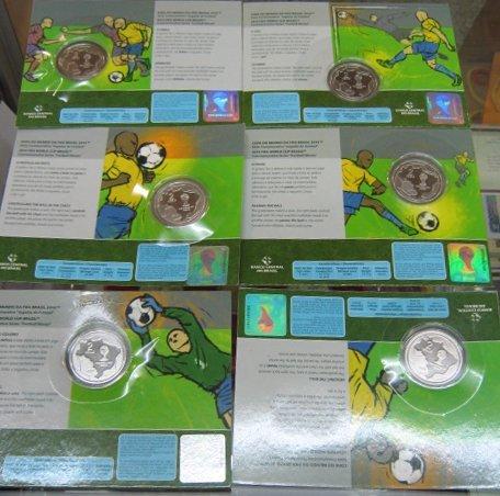 2014 巴西世界杯 纪念币