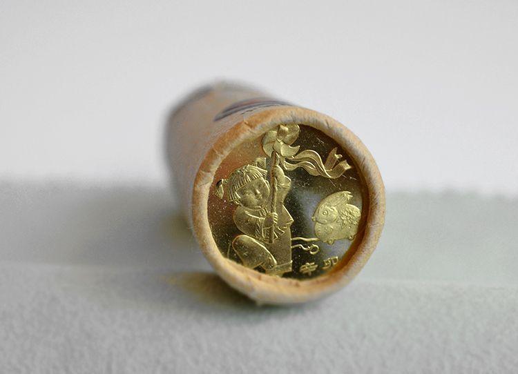 2011 兔年 贺岁生肖纪念币 整卷