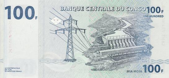 刚果 100法郎 2007